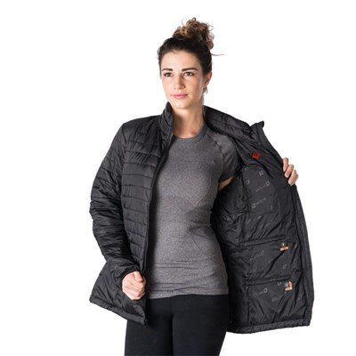 Women's Heated Insulated Jacket - New Heating Technology